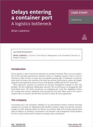 Case Study: Delays Entering a Container Port
