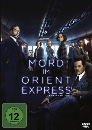 Mord im Orient Express (2017), 1 DVD