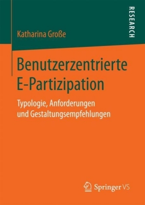 Benutzerzentrierte E-Partizipation