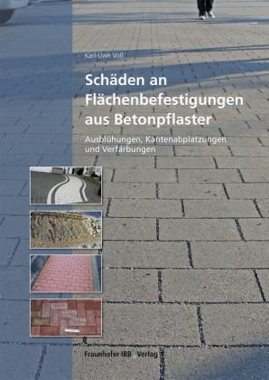 Schäden an Flächenbefestigungen aus Betonpflaster.