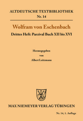 Parzival Buch XII bis XVI