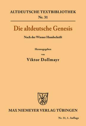Die altdeutsche Genesis