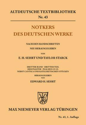 Notkers des Deutschen Werke