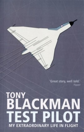 Tony Blackman Test Pilot