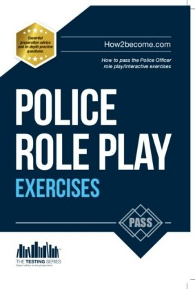 Police Role Play/Interactive Exercises Workbook + Online Video Access