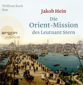 Die Orient-Mission des Leutnant Stern, 4 Audio-CDs Cover