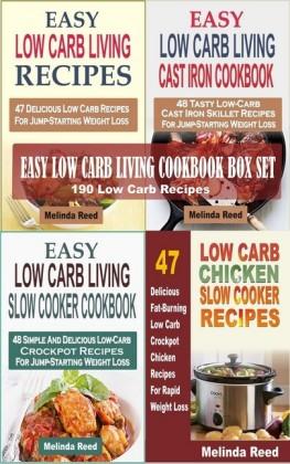 Easy Low Carb Living Cookbook Box Set