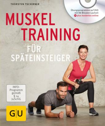 Muskeltraining für Späteinsteiger, m. DVD