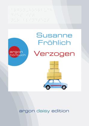 Verzogen, 1 MP3-CD (DAISY Edition)