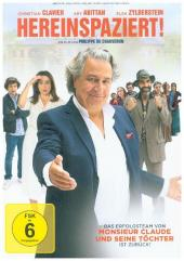 Hereinspaziert!, 1 DVD Cover