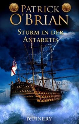 Sturm in der Antarktis