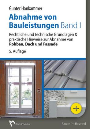 Abnahme von Bauleistungen Band 1 - E-Book (PDF)