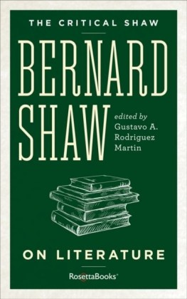 Critical Shaw: On Literature
