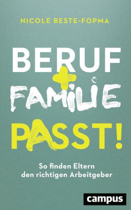 Beruf + Familie - Passt!