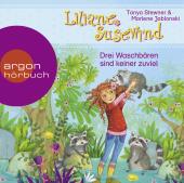 Liliane Susewind - Drei Waschbären sind keiner zuviel, 1 Audio-CD Cover