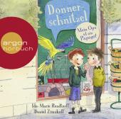 Donnerschnitzel - Mein Opa ist ein Papagei!, 2 Audio-CDs Cover