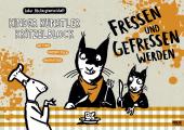 Kinder Künstler Kritzelblock - Fressen und gefressen werden