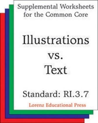 Illustrations vs Text (CCSS RI.3.7)