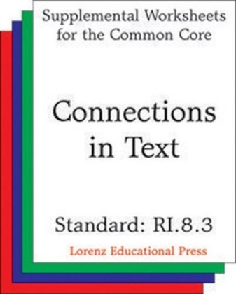 Connections in Text (CCSS RI.8.3)