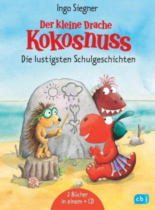 Der kleine Drache Kokosnuss - Die lustigsten Schulgeschichten, m. Audio-CD