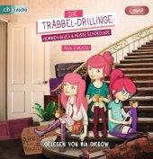 Die Trabbel-Drillinge - Heimweh-Blues und heiße Schokolade, 1 MP3-CD