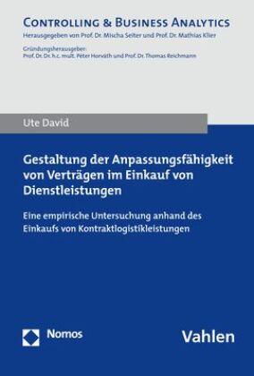 Gestaltung der Anpassungsfähigkeit von Verträgen im Einkauf von Dienstleistungen