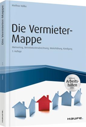 Die Vermieter Mappe Inkl Arbeitshilfen Online Shop