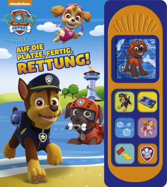 7-Button-Soundbuch, PAW Patrol, Auf die Plätze, fertig, Rettung!