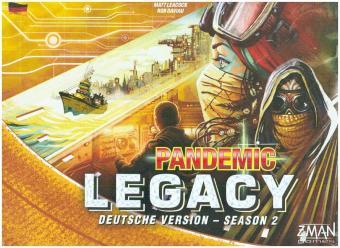 Pandemic Legacy Season 2 Gelb (Spiel)