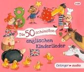 Die 50 schönsten englischen Kinderlieder, 3 Audio-CDs Cover