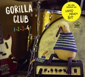 Gorilla Club 1-2-3-4!, 1 Audio-CD Cover