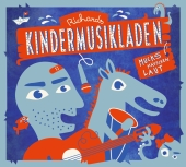Richards Kindermusikladen. Mucksmäuschenlaut, 1 Audio-CD Cover