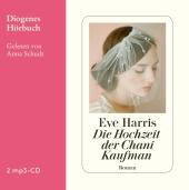 Die Hochzeit der Chani Kaufman, 2 mp3-CDs Cover