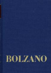 Bernard Bolzano Gesamtausgabe / Reihe II: Nachlaß. B. Wissenschaftliche Tagebücher. Band 12,2: Miscellanea Mathematica 2