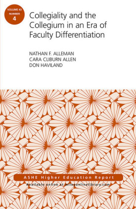 Collegiality and the Collegium in an Era of Faculty Differentiation