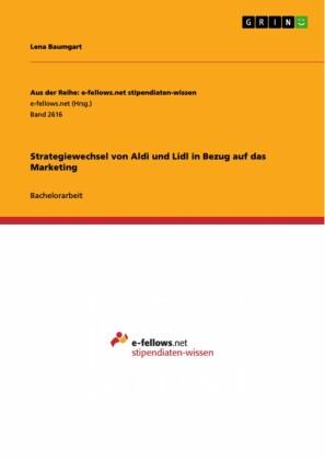Strategiewechsel von Aldi und Lidl in Bezug auf das Marketing