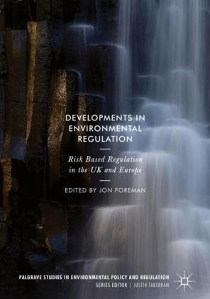 Developments in Environmental Regulation
