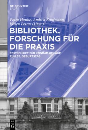 Bibliothek - Forschung für die Praxis