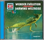 Wunder Evolution / Darwins Weltreise, 1 Audio-CD Cover