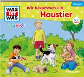 Wir bekommen ein Haustier!, 1 Audio-CD Cover