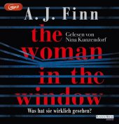 The Woman in the Window - Was hat sie wirklich gesehen?, 2 MP3-CDs Cover