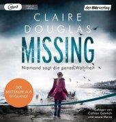 Missing - Niemand sagt die ganze Wahrheit, 1 MP3-CD Cover
