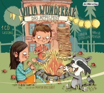 Villa Wunderbar. Das Apfelfest, 1 Audio-CD