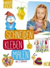 kinderleicht - Schneiden, Kleben, Malen Cover