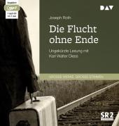 Die Flucht ohne Ende, 1 MP3-CD Cover