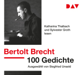 100 Gedichte, 3 Audio-CDs Cover