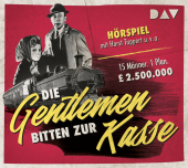 Die Gentlemen bitten zur Kasse, 1 Audio-CD Cover
