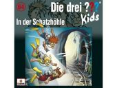 Die drei ??? Kids - In der Schatzhöhle, 1 Audio-CD Cover