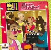 Die drei !!! - Klappe und Action!, 1 Audio-CD Cover