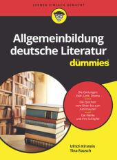 Allgemeinbildung deutsche Literatur für Dummies Cover